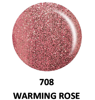 DND Gel & Lacquer 708 Warming Rose