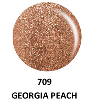 DND Gel & Lacquer 709 Georgia Peach