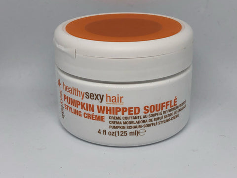Healthy Sexy Hair Pumpkin Whipped Souffle Styling Creme 4 oz