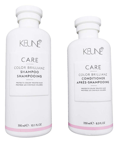 KEUNE Care Line Color Brilliance Shampoo 10.1 oz and Conditioner 8.5 oz