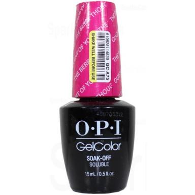 OPI Gel Polish GCA75 The Berry Thought Of You