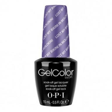 OPI Gel Polish GCH75 Lost My Bikini in Molokini