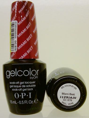 OPI Gel Color GC B78 Miami Beet