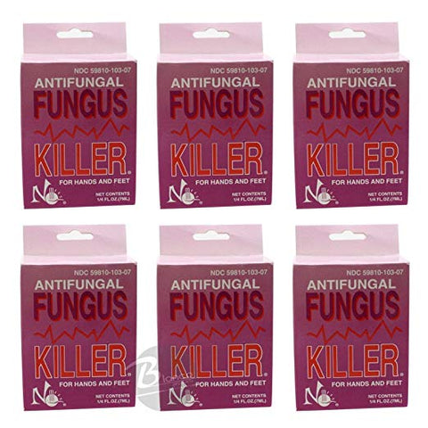 Antifungal Fungus Killer 1/4oz/7ml - 6 pcs