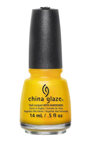 China Glaze Nail Polish Lacquer Suns Up Top Down 82390