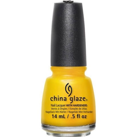China Glaze Nail Polish Lacquer Sun's Up, Top Down 82390