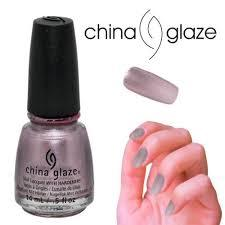 China Glaze Nail Polish Lacquer Chrome Is Where The Heart Is 83403