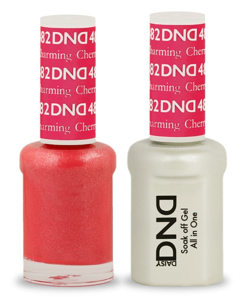 DND Gel & Lacquer 482  Charming Cherry