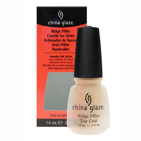 China Glaze Discontinued Nail Polish Lacquer RIDGE FILLER BASE COAT 904
