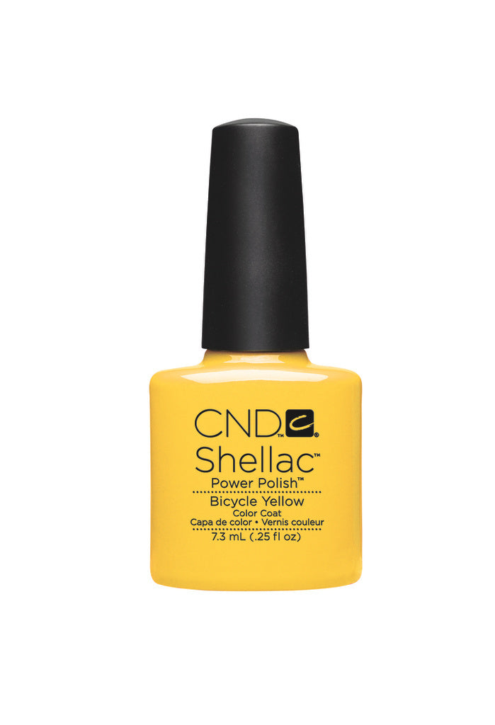 CND  SHELLAC UV Color Coat  Bicycle Yellow 90513