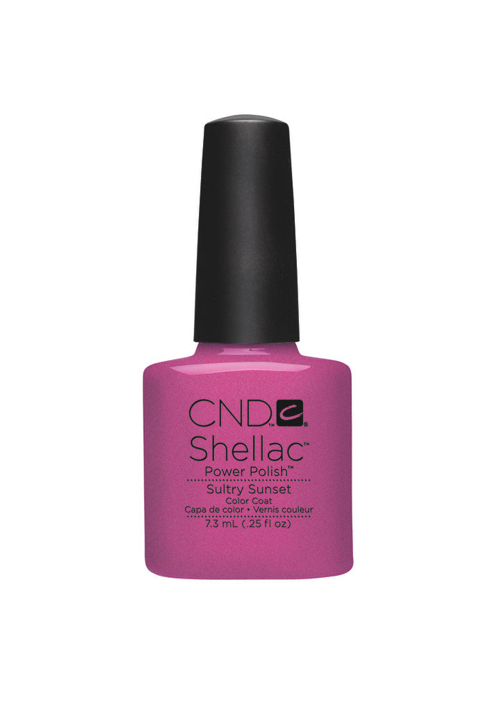 CND  SHELLAC UV Color Coat  Sultry Sunset 90515
