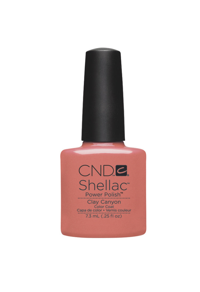 CND Shellac Power Polish Clay Canyon #90541 .25 oz
