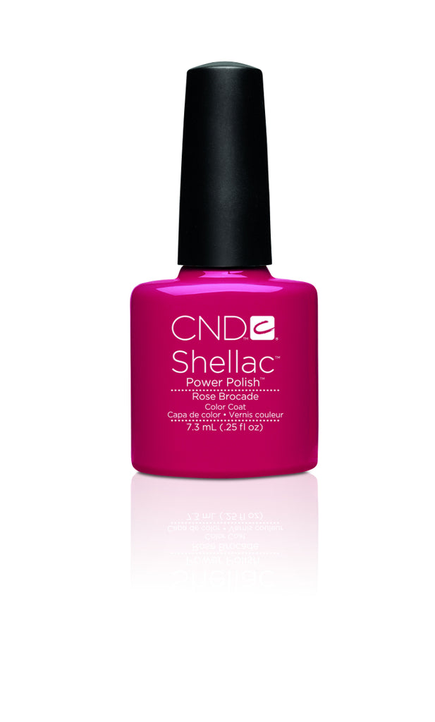 CND Shellac Power Polish Rose Brocade #90622 .25 oz