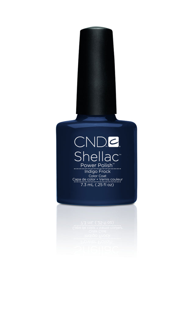 CND  SHELLAC UV Color Coat Indigo Frock 90625