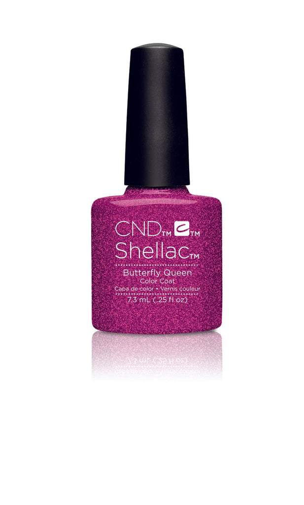 CND Shellac Power Polish BUTTERFLY QUEEN - Garden Muse Collection #90798 .25 oz