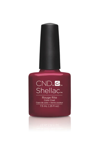 CND Shellac Power Polish Rouge Rite - Contradictions Collection #90869 .25 oz