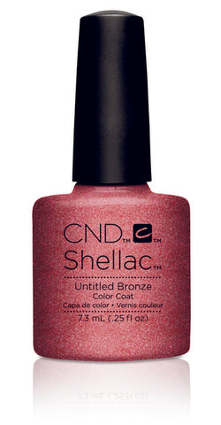 CND Shellac Power Polish Untitled Bronze - Art Vandal Collection #91166 .25 oz