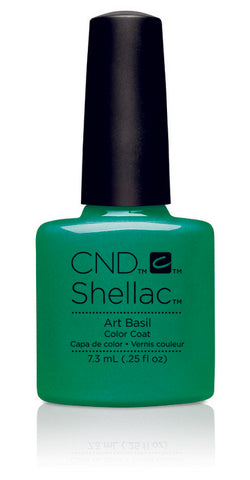 CND Shellac Power Polish Art Basil - Art Vandal Collection #91168 .25 oz