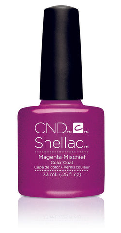 CND Shellac Power Polish Magenta Mischief - Art Vandal Collection #91169 .25 oz