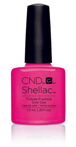 CND Shellac Power Polish Future Fuchsia - Art Vandal Collection #91170 .25 oz