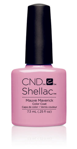 CND Shellac Power Polish Mauve Maverick - Art Vandal Collection #91171 .25 oz