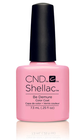 CND Shellac Power Polish Be Demure - Flirtation Collection #91173 .25 oz
