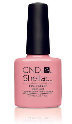 CND Shellac Power Polish Pink Pursuit - Flirtation Collection #91174 .25 oz