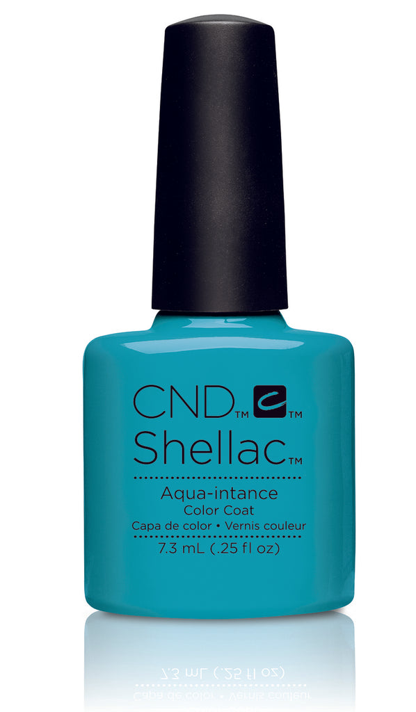 CND Shellac Power Polish Aqua-intance - Flirtation Collection #91176 .25 oz
