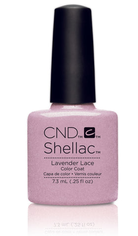 CND Shellac Power Polish Lavender Lace - Flirtation Collection #91178 .25 oz
