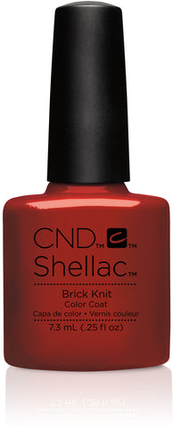 CND Shellac Power Polish Brick Knit - Craft Culture Collection #91251 .25 oz
