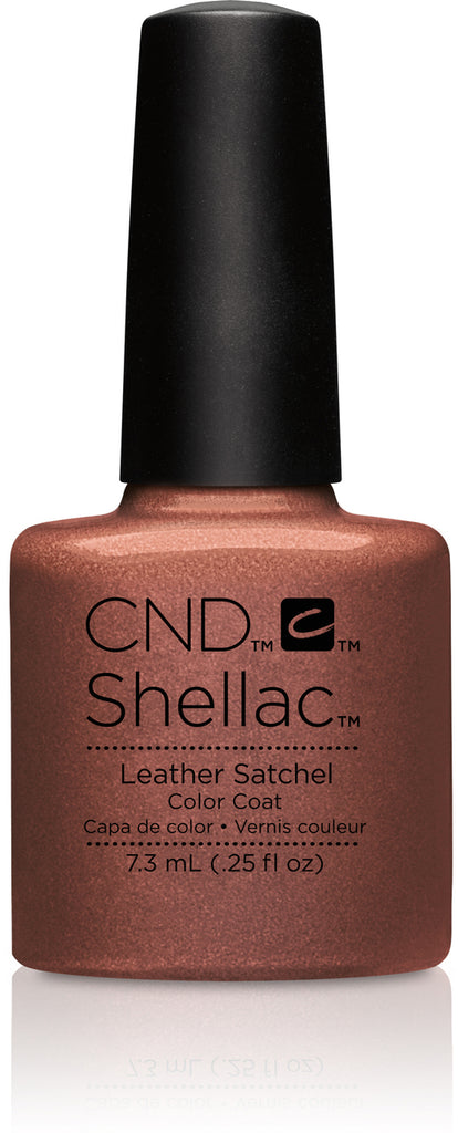 CND Shellac Power Polish Leather Satchel - Craft Culture Collection #91253 .25 oz
