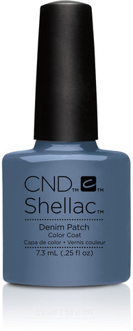 CND Shellac Power Polish Denim Patch - Craft Culture Collection #91254 .25 oz