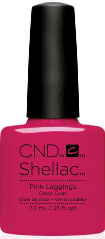 CND Shellac Power Polish PINK LEGGINGS - New Wave Collection #91404 .25 oz
