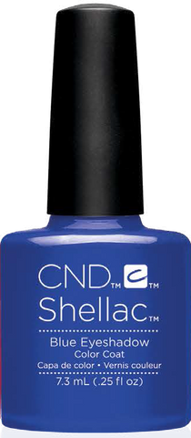 CND Shellac Power Polish BLUE EYESHADOW - New Wave Collection #91406 .25 oz