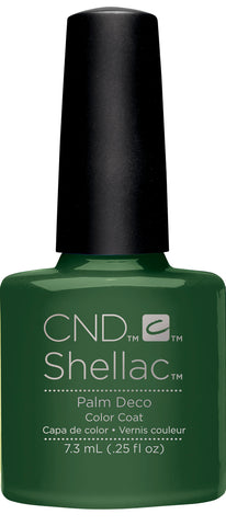 CND Shellac Power Polish PALM DECO - Rhythm & Heat Collection #91585 .25 oz