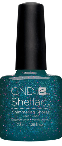 CND Shellac Power Polish SHIMMERING SHORES - Rhythm & Heat Collection #91586 .25 oz