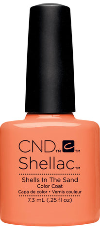 CND Shellac Power Polish SHELLS IN THE SAND - Rhythm & Heat Collection #91588 .25 oz