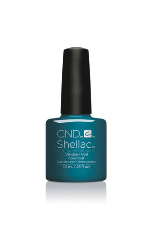 CND Shellac Power Polish VIRIDIAN VEIL - Nightspell Collection #91594 .25 oz