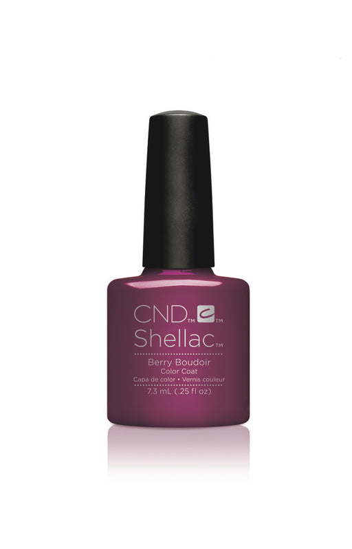 CND Shellac Power Polish BERRY BOUDOIR - Nightspell Collection #91596 .25 oz