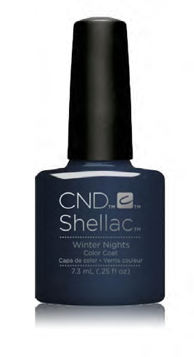 CND Shellac Power Polish WINTER NIGHTS - Glacial Illusion Collection #91683 .25 oz