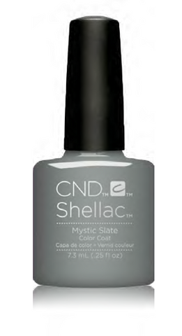 CND Shellac Power Polish MYSTIC SLATE - Glacial Illusion Collection #91684 .25 oz
