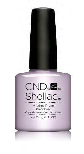 CND Shellac Power Polish ALPINE PLUM - Glacial Illusion Collection #91687 .25 oz