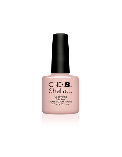 CND Shellac Power Polish Uncovered - Nude Collection #92148 .25 oz