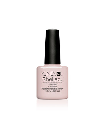 CND Shellac Power Polish Unlocked - Nude Collection  #92149 .25 oz