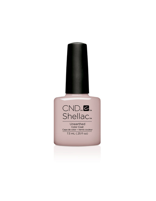 CND Shellac Power Polish Unearthed - Nude Collection #92151 .25 oz