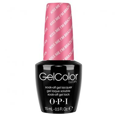 OPI Gel Polish NLA68 Kiss Me I'm Brazilian