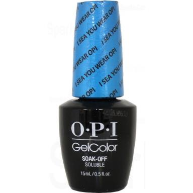 OPI Gel Polish GCA73 I Sea You Wear OPI