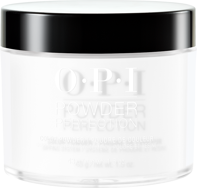 30% OFF - OPI DIPPING PINK & WHITE POWDERS - #DPL00 ALPINE SNOW 1.5 OZ  p1