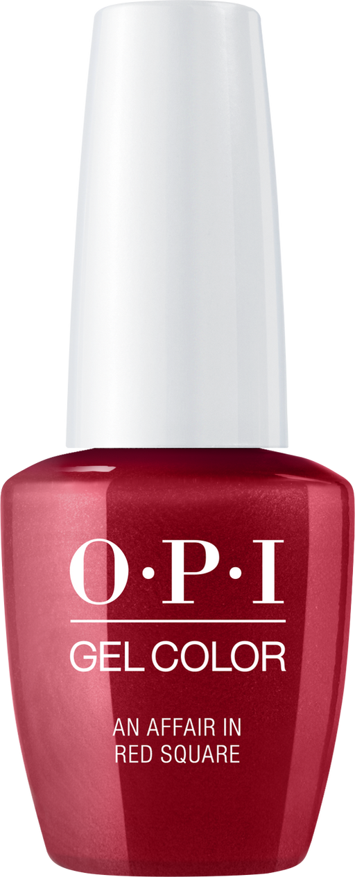 OPI GELCOLOR - #GCR53 AN AFFAIR IN RED SQUARE .5 OZ  p1