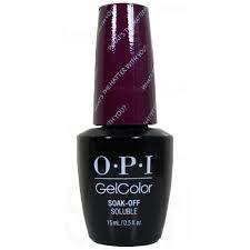 OPI Gel Polish GCBA3 What's the Hatter with You?